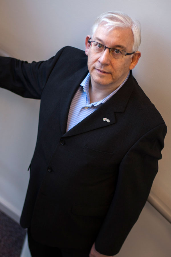 Malcolm Anson Managing Director of Clarkson Controls past President of the BCIA