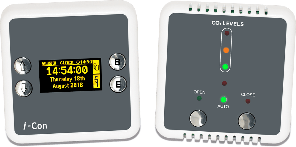 Clarkson Control i-Con System Controller GUI and Sensor