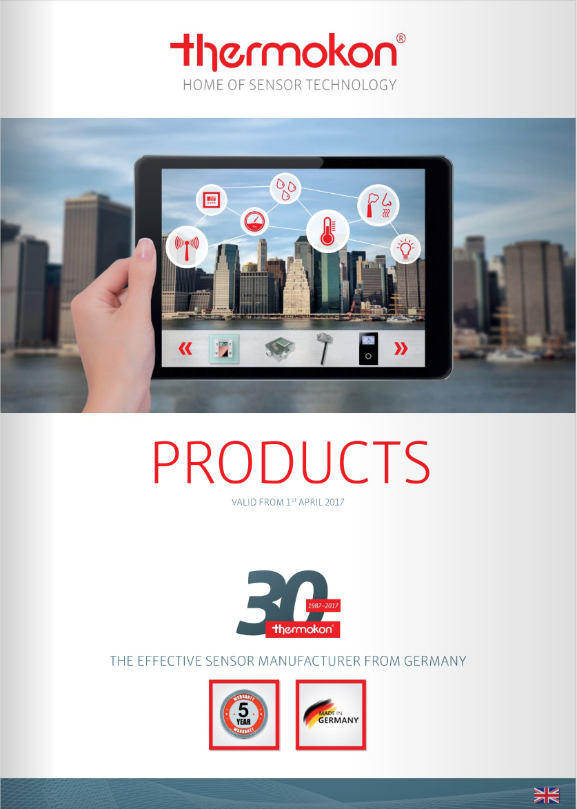 The NEW 2017 Thermokon Catalogue is now available. - Clarkson Controls
