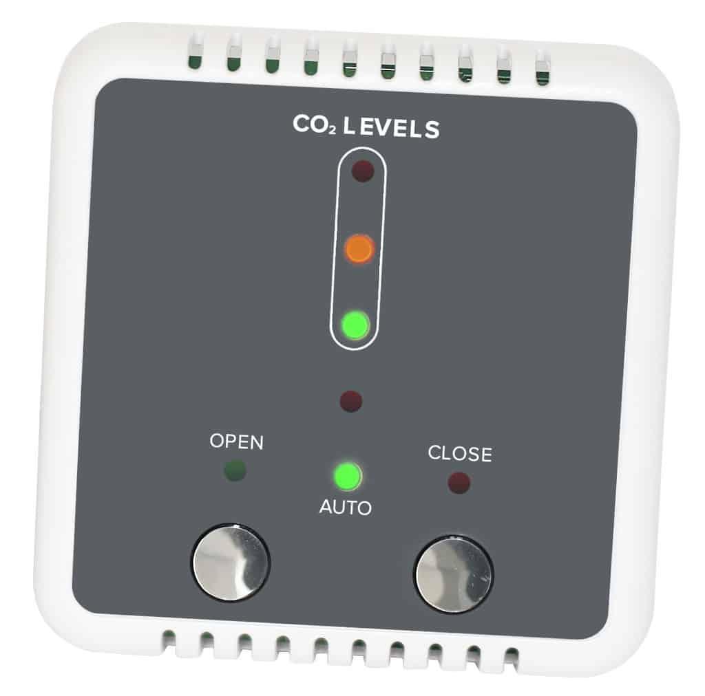 Natural Vent Control i-con CO2 Room Sensor Clarkson Controls