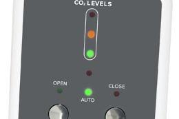 i-con CO2 Room Sensor Clarkson Controls