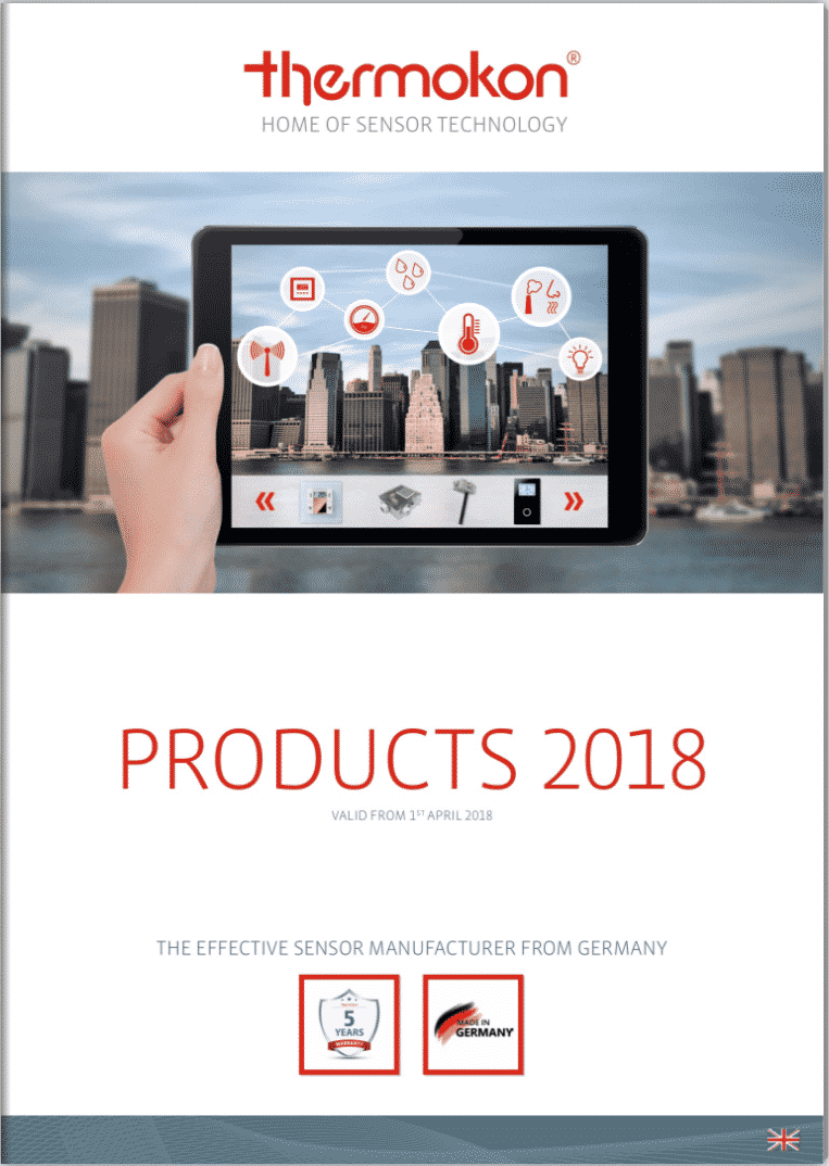 Thermokon 2018 Products Brochure Clarkson Controls