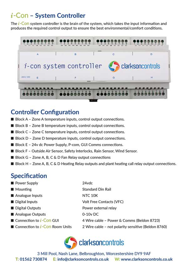 i-Con System Controller